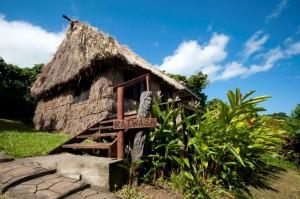 Bures at Matava, Kadavu, Fiji