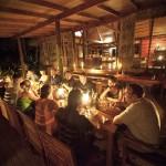 Dining at Matava, Fiji