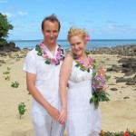 Magnus & Sylvia Matava Wedding on private beach in Fiji