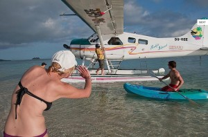 Pacific Island Seaplanes direct to Resort