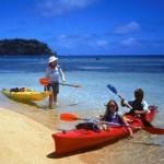 Sea-kayaking in Kadavu