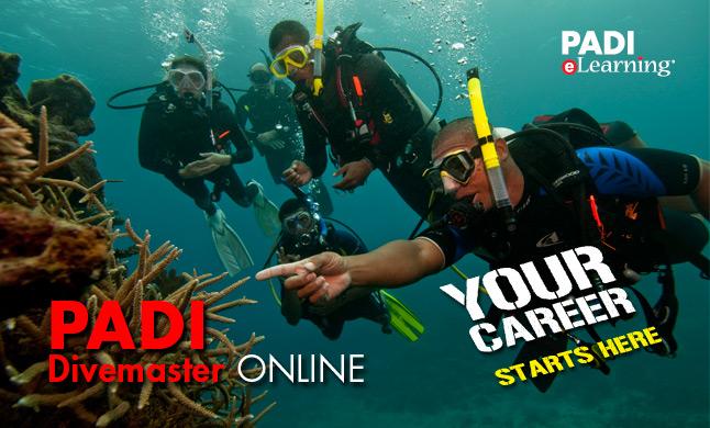 PADI Divemaster Course eLearning