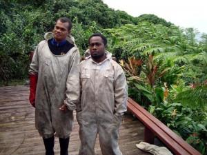 Mika & Avi Meleki - Community Partnership Kadavu Organic Honey Program, Fiji